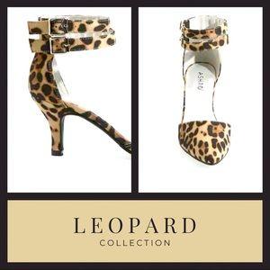 Leopard Heels Shoes